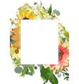 design vertical card rectangular text space vector image