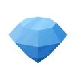 Diamond cartoon icon vector image