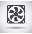 Fan icon vector image