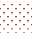 Man in a red jacket and metal helmet pattern vector image vector image