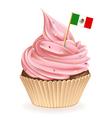 Mexican Cupcake vector image vector image