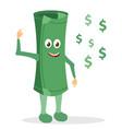 paper money character vector image vector image
