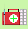 urgent care concept vector image