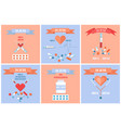 26 june international drug abuse day banners set vector image vector image