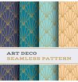Art Deco seamless pattern 11 vector image vector image