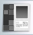 square banner template minimal modern design vector image vector image