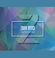 abstract geometric 3d polygonal background vector image vector image