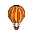 balloon air hot travel vector image vector image