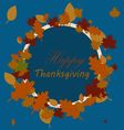 Happy Thanksgiving sticker vector image vector image