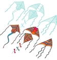 kites for your design Hand drawn vector image vector image