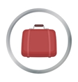 Luggage icon in cartoon style isolated on white vector image vector image