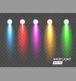 spotlight lighting color graphic element vector image