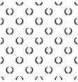 triumph wreath pattern seamless vector image vector image