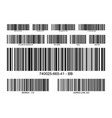 bar code label price icon barcode scanner vector image