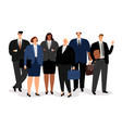 business man and women vector image vector image