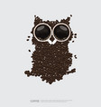 coffee poster advertisement flayers vector image vector image