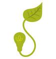 eco energy green energy vector image vector image
