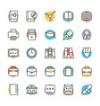 Education Cool Icons 3 vector image vector image