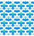 Hand painted pattern with bold brush strokes vector image vector image