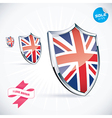 I Love Britain Flag vector image vector image