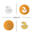 icon flat design linear and color styles isolated vector image vector image