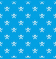 painting service pattern seamless blue vector image