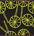 Seamless pattern lollipops vector image