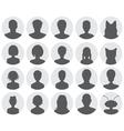 Set of avatars vector image vector image