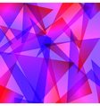 blue red Fractal Abstract Background in different vector image