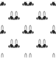Bra icon of for web and mobile vector image