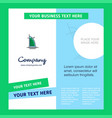 dubai hotel company brochure template busienss vector image vector image