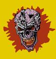 frame Skull vector image vector image