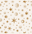 glamour brown seamless texture background with vector image vector image