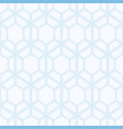 seamless geometric abstract pattern with hexagons vector image