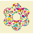 Spring time flower vector image vector image