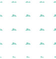 swimmer icon pattern seamless white background vector image vector image