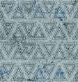 Vintage geometric seamless pattern old repeat vector image vector image