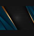 abstract template dark blue luxury premium vector image vector image