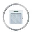 Elevator icon in cartoon style isolated on white vector image vector image