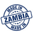 made in zambia vector image vector image