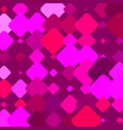 purple bg with colorful magenta square elements vector image