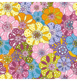 spotty vivid pattern vector image vector image