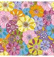 spotty vivid pattern vector image