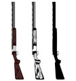 Huntings rifle vector | Price: 1 Credit (USD $1)