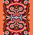retro style pattern vector image