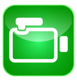 video camera app icon vector image