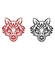 Wild wolf vector image vector image