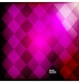 abstract background Squares red geometric vector image vector image