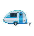 caravan trailer mobile home for summer travel and vector image vector image