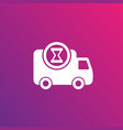 fast delivery vetor icon vector image